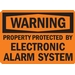 PROPERTY PROTECTED BY ELECTRONIC ALARM SYSTEM